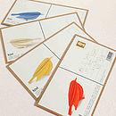 All Birds - postcards