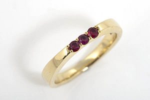 Parallel Ring - women's jewellery