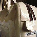 Cream Carry Case Detail