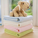 Fleece Newborn Blanket