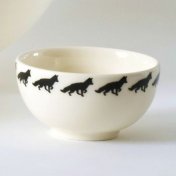 Fox Small Bowl