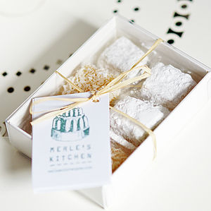 Mixed Box of Handmade Turkish Delight - cakes & treats