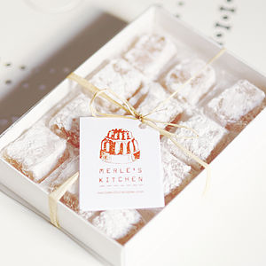 Mediterranean Blossom Turkish Delight - sweet treats