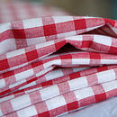Red Gingham Pillow Case