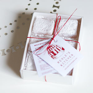 Handmade Rose Turkish Delight - cakes & treats