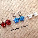 Murano star charms
