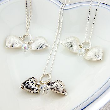 Lifestyle 3 heart necklaces
