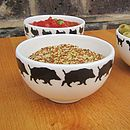 Wildboar Small Bowl