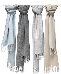 Cashmere Scarves For Him & Her - hats, scarves & gloves