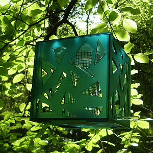 Quince Green Bird Feeder - birds & wildlife