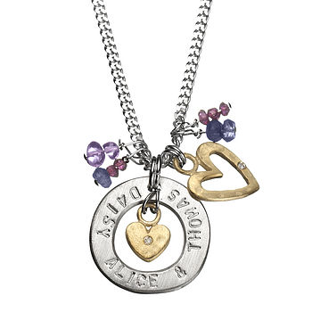 My World Personalised Classic Necklace