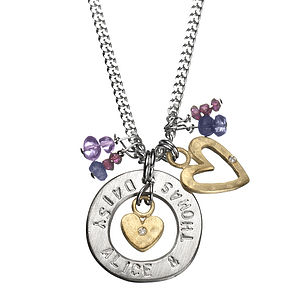 My World Personalised Classic Necklace - necklaces & pendants