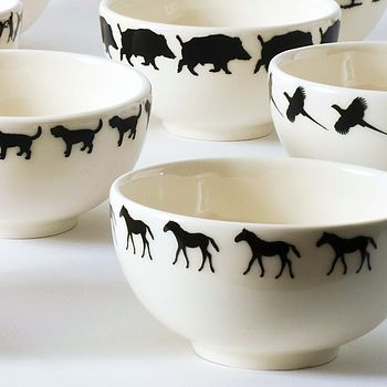 Horse Small Bowl