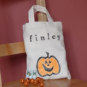 Personalised Halloween Trick Or Treat Bag - children's accessories