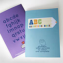 Abc colouring books front and back