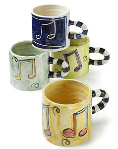 Musical Mug - crockery & chinaware