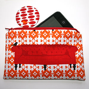 Purse And Mirror Set - purses & wallets