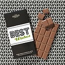 Personalised Best Wishes chocolate bar
