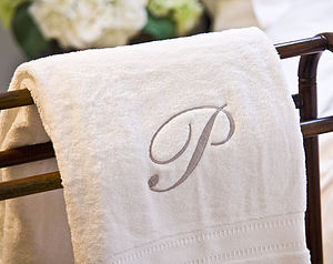 Personalised Towel - bathroom