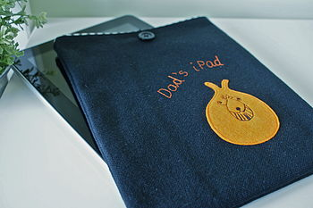 Personalised Space Hopper Case For ⅰPad