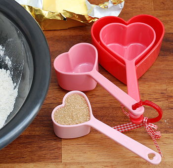 Heart-Shaped Large Measuring Spoons