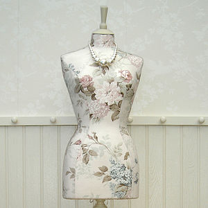 Bespoke Mannequin In Your Choice Of Fabric - decorative accessories