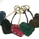 Suede Key Rings