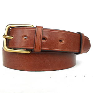 Handmade Westwick Leather Belt - belts
