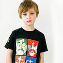 Beatles Pop Art Cotton T Shirt