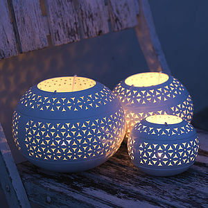 Petal T Light Holder - lights & lanterns