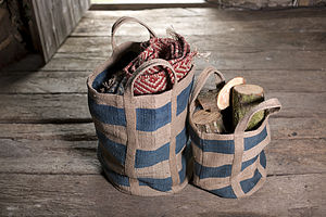 Fair Trade Bansi Jute Storage Bags - kitchen accessories