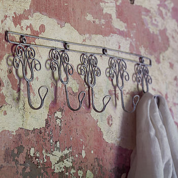 Fair Trade Rustic Wire Hooks