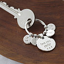 'Love You...' Key Ring