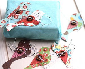 Wee Birdy Gift Tags - wedding favours