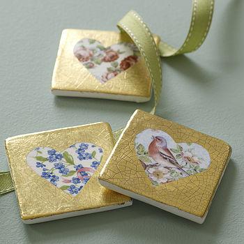 Ceramic Heart Tile