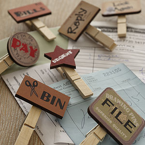 Filing Pegs - stationery & books