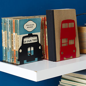 London Transport Bookend - gifts for book-lovers