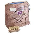 'Wash Your Face' Wash Bag