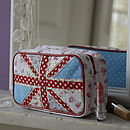 Union Jack Make Up Bag