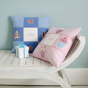 Personalised Name Cushion - baby's room