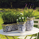 Ceramic Garden Planter Or Plant Pot - garden & outdoors