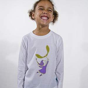 'Let's Go Fly A Kite' Long Sleeve T-Shirt - gifts for children