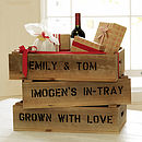 Personalised Half Crate