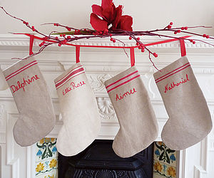 Personalised Christmas Stocking - view all decorations