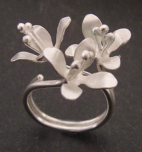 White Lilies Ring - rings