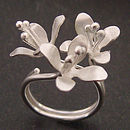 White Lilies Ring