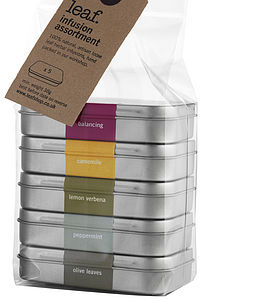 Five Infusion Tin Assortment - gifts to drink