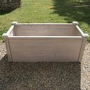 Raised Trough Bed