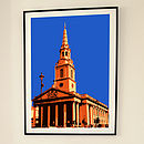 'St Martin In The Fields London' Print