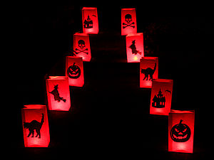 10 Halloween Candle Lanterns - lights & lanterns